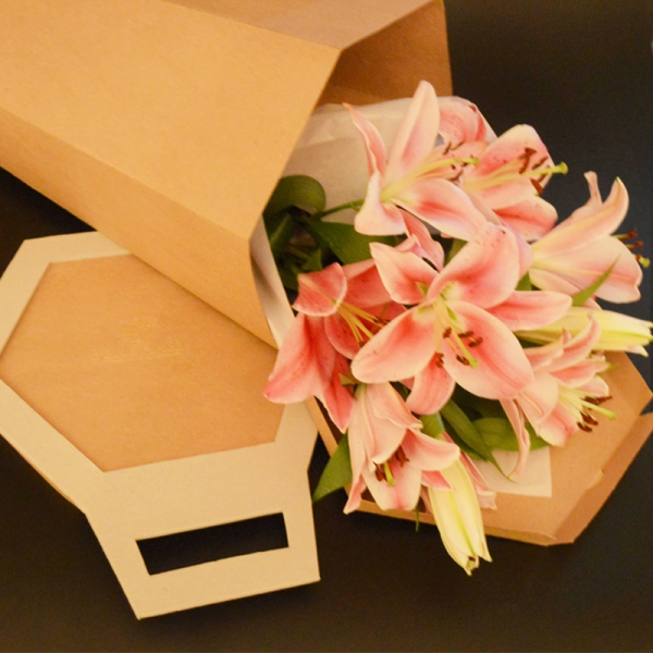 Bunchary Wrapped Fragrant Lilies (We get you best lilies of the day)
