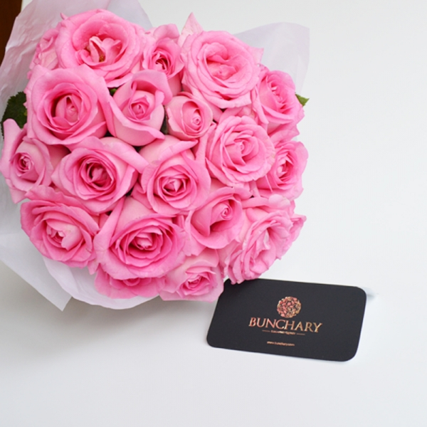 Bunchary Wrapped Roses (We get you best roses of the day)